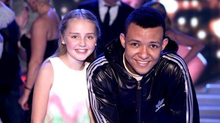 Mathea-Mari og Carl i Norske Talenter (Foto: Thomas Reisæter/TV 2)