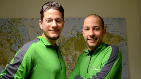 Omar og Bilal i The Amazing Race Norge (Foto: Sandra Mei Ling Noer/TV 2)