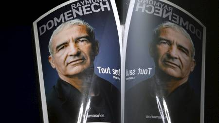 NY BOK: Raymond Domenech forteller alt i sin nye bok