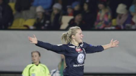 Ada Hegerberg (Foto: Roald, Berit/NTB scanpix)