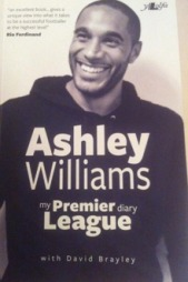 Ashley Williams nye bok «my Premier League diary».