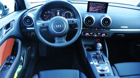 Audi A3 SB interiør