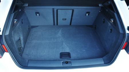 Audi A3 SB interiør bagajerom