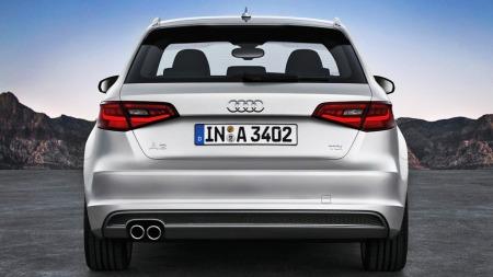 Audi A3 SB rett bakfra