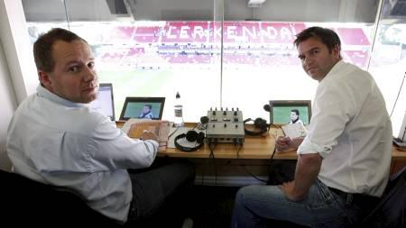Morten Langli og Petter Myhre er fotballeksperter i TV 2. (Foto: Kallestad, Gorm/NTB scanpix)