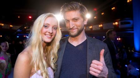 Stine og Anderser videre i Norske Talenter (Foto: Thomas Reisæter/TV 2)