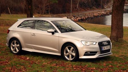 Audi-A3-2013-forfra02 (Foto: Benny Christensen)