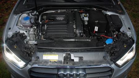 Motoren er en 1,4-liter bensin på 122 hk / 200 Nm (Foto: Benny Christensen)