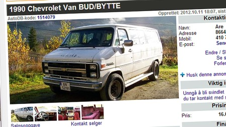 Chevrolet-Van (Foto: Faksimile Auto DB)