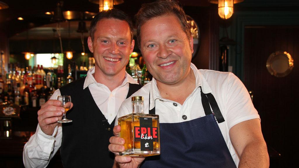 Heine Totland og Arne Hjeltnes (Foto: TV 2)