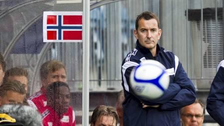 Norges U21-landslagstrener Per Joar Hansen. (Foto: Grøtt, Vegard/NTB scanpix)