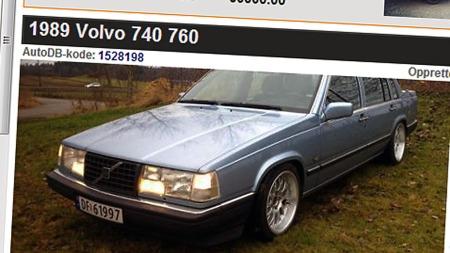 Volvo-760 (Foto: Faksimile Auto DB)
