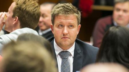 RENOMINERT: Truls Wickholm (Ap) ble stemt frem som fagbevegelsens kandidat tirsdag. (Foto: Scanpix)
