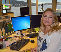 Tirsdag er dagen før dagen for Elin Tvedt. (Foto: Ronald Toppe)