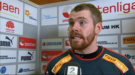 Haslums keeper Henrik Ruud Tovås. (Foto: TV 2)