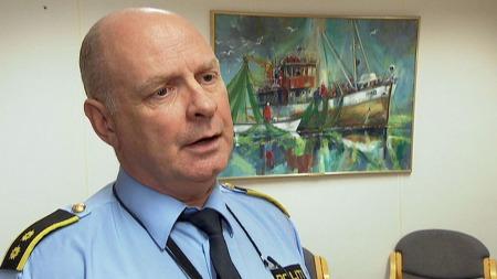 UENIG: Jarle Søyland, leder for Utlendingsseksjonen i Rogaland politidistrikt.  (Foto: TV 2)