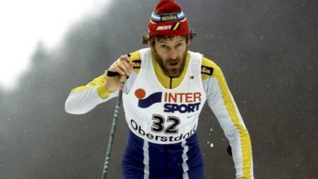 LANSERER TEORI: Thomas Wassberg mener Marit Bjørgen er avlet frem til å bli en god skiløper. (Foto: Poppe, Cornelius/NTB scanpix)