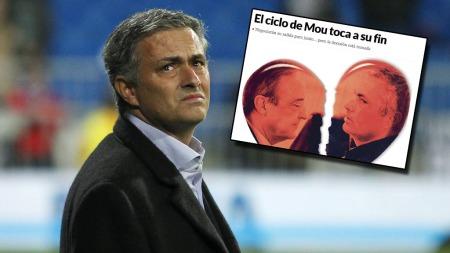 Jose Mourinho er ferdig i Real Madrid ifølge avisen Marca. (Foto: Scanpix/Marca (Faksimile))