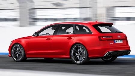 Audi A6 Avant er en temmelig diskret bil i utgangspunktet. Men etter full RS-behandling, blir det langt tøffere.
