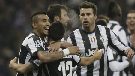 Juventus-spillere (Foto: Efrem Lukatsky/Ap)
