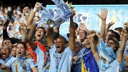 Manchester City (Foto: PAUL ELLIS/Afp)