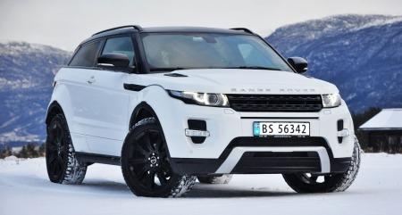 Evoque - her i tredørs-versjon - er en stor suksess for Range Rover.