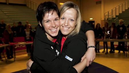 BRONSEJENTER: Anja Edin og Heidi Løke fikk begge sine mesterskapsdebuter i VM i Kina. (Foto: Kallestad, Gorm/NTB scanpix)