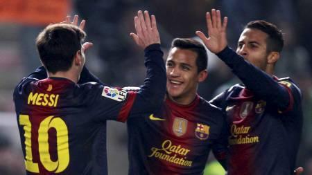 Messi (Foto: Marcelo del Pozo/Reuters)