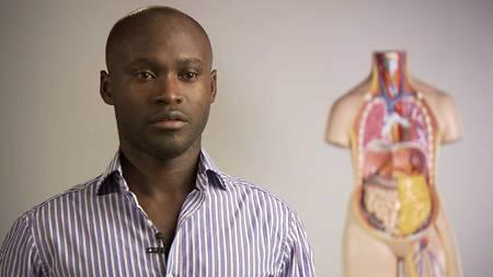 SPORTYLEGE: Oscar Ohene Asante. (Foto: TV 2/)