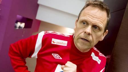 Trener Thorir Hergeirsson. (Foto: Larsen, Håkon Mosvold/NTB scanpix)