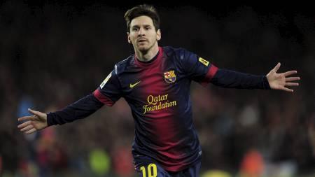 Lionel Messi har hatt et rekordår på fotballbanen i 2012. (Foto: LLUIS GENE/Afp)