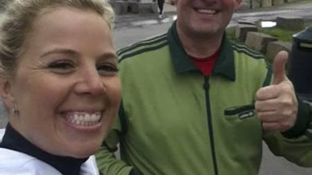 I FORM: Personlig trener Anne Marte Sneve motiverte Hans Balint (49) til å komme inn i en positiv spiral med regelmessig trening. (Foto: TV 2/)