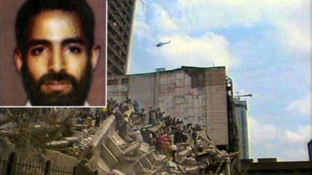 THE BEGINNING: The coordinated attack against the American embassy in Kenya and Tanzania was the first time al-Qaida and Saleh Nabahan got attention. (Foto: TV 2)