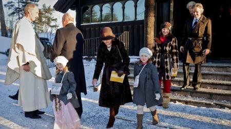 kongefamilien jul (Foto: Lien, Kyrre)
