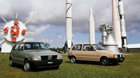 Du fikk Fiat Uno med tre eller fem dører.