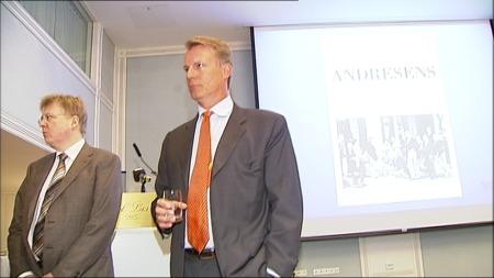 NORGES RIKESTE: Johan Henrik Andresen Jr. er ifølge skattelisten for 2011 Norges rikeste mann, målt i skattepliktig formue. Han er god for over 11 milliarder kroner. (Foto: TV 2)