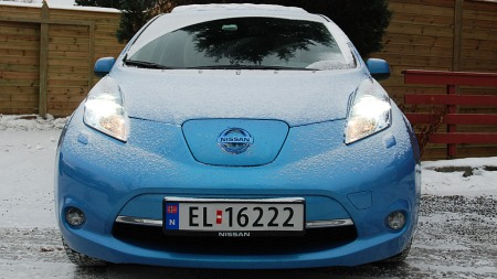 Et knallår er snart over for Nissan Leaf, for første gang er en elbil inne på lista over de 20 mest solgte bilene i Norge.