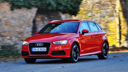 Audi er bestselgeren av premiummerkene. Tallene for 2013 blir   trolig ytterligere bedret gjennom at nye A3 Sportback er på plass.