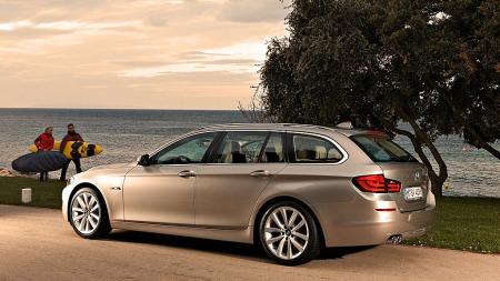 BMW 5-serie Touring er praktisk og pen