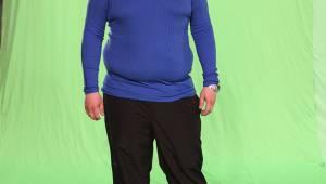 MIDTVEIS: Frank Bjørung er godt i gang, men har fortsatt en vei å gå. (Foto: TV 2/)