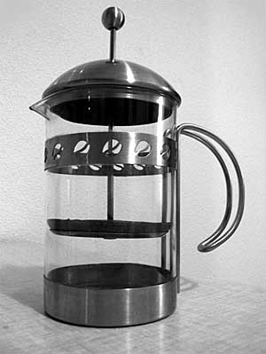 Kaffe presskanne