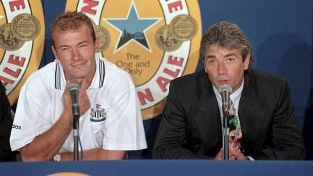 TO AV DE STØRSTE I NORD-ØST: Newcastle-legenden Kevin Keegan hentet Newcastle-legenden Alan Shearer til St. James' Park. (Foto: Paul Barker/Pa Photos)