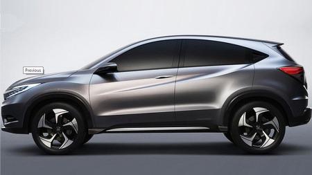 Honda går for et ganske radikalt design på Urban SUV Concept, kanskje vil det bli litt mer avslepent når bilen skal i produksjon.