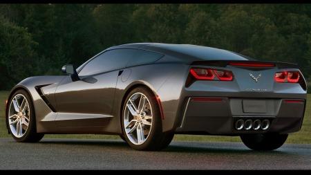Syvende generasjon Corvette ser litt større ut enn den forrige, som var svært minimalistisk i linjeføringen. Akselavstanden er økt med en tomme, samme økning finner man også på sporvidden både foran og bak - alt for å gjøre bilen roligere på veien.