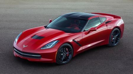 Slik ser originalen ut, syvende generasjon av amerikanernes store stolthet Chevrolet Corvette. For første gang siden 1977 har den også fått tilbake tilnavnet