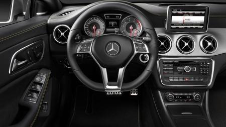 Mercedes CLA interiør 2