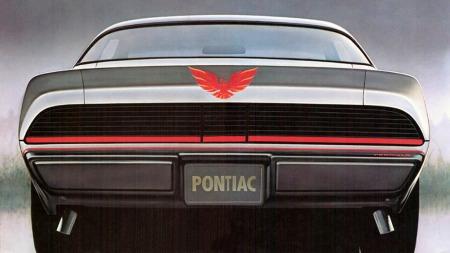 Den tøffeste bilen du kunne kjøre bak på slutten av 1970-tallet var Pontiac Firebird, her i Formula-versjon fra 1979. De
