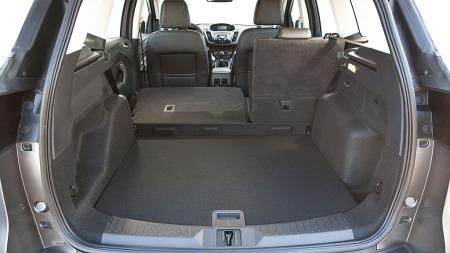 Ford svarer på kritikken - og har gitt nye Kuga adskillig større bagasjerom.