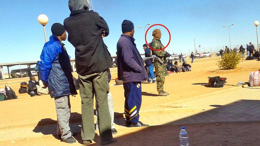 Algerie terrorister in amenas (Foto: AFP)