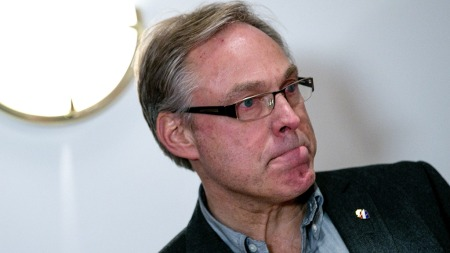 RASER: Sykkelpresident Harald Tiedemann Hansen mener at Hein   Verbruggen må stå til rette for den rufsetet dopingfortiden til sykkelsporten.   (Foto: Kallestad, Gorm, ©GOK)